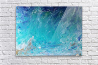 Wet an Abstract wave  Acrylic Print