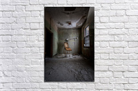 Abandoned Asylum  Acrylic Print