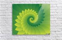 Shiny Greeny Art  Acrylic Print