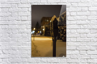 One winter night  Acrylic Print