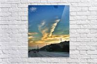 Cloud Whirlwind, California  Acrylic Print