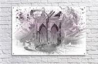 City Art Brooklyn Bridge in Detail     Acrylic Print
