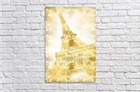EIFFEL TOWER | golden illusion  Acrylic Print