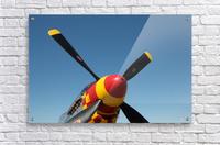 P-51 Mustang Propeller  Acrylic Print
