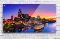 Nashville and General Jackson   Acrylic Print