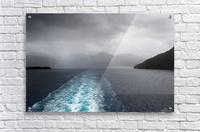 Leaving Fiordland New Zealand  Acrylic Print