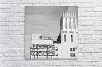 B&W Jesus Saves Building - DTLA  Acrylic Print