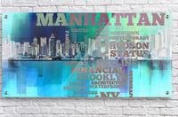 Manhattan harbor  Acrylic Print