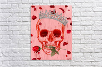 Charming Skull  Acrylic Print