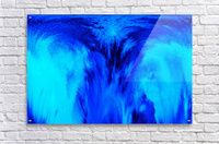 Abstract blue  Acrylic Print