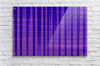 Abstract vioret  Acrylic Print
