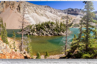 Lake Agnes Colorado   Acrylic Print