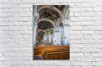 Church Pews  Acrylic Print