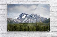 Alaska Mountain Range  Acrylic Print