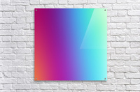 Multicolor Background  Acrylic Print