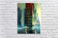 New York Street  Acrylic Print