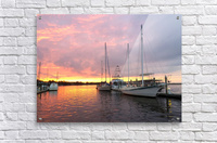 Sunset Sailboat 2  Acrylic Print