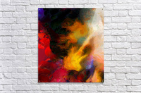 Colorful oil on canvas  Acrylic Print