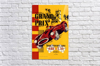 Us Grand Prix Sports Riverside International Raceway 1958  Acrylic Print