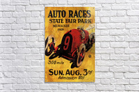 Milwaukee 300 Mile Auto Races State Fair Park 1909  Acrylic Print