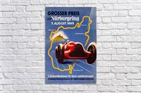 German Grand Prix Grosser Preis Vom Nurburgring 1949  Acrylic Print