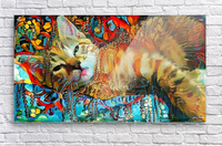 Lying Cat  Acrylic Print