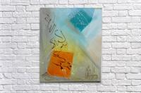 ahson qazikalmacalligraphy  Acrylic Print