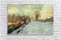 The Seine in Winter  Acrylic Print