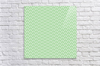 Green Flower Seamless Pattern Background  Acrylic Print