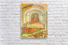 Corridor in Saint-Paul Hospital by Van Gogh  Acrylic Print