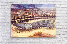 Factory by Van Gogh  Acrylic Print