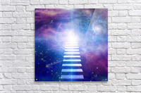 Steps up into cosmos  Acrylic Print