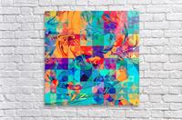 Geometric X  Acrylic Print