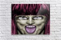 Daring Pop Teen Portrait  Acrylic Print