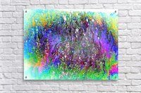 Bubbles Reimagined 61  Acrylic Print