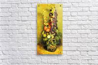 Hollyhocks by Van Gogh  Acrylic Print