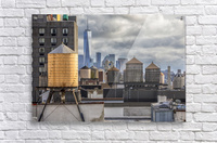 Water Towers   Acrylic Print