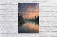 Li River Sunrise  Acrylic Print