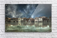 Reflections in Venice  Acrylic Print