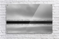 Polderlandscape in reflection  Acrylic Print