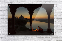 Illuminating the Taj  Acrylic Print