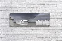 cabins beach  Acrylic Print