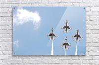Falcon Formation  Acrylic Print