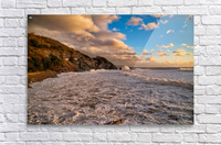 Raging Seas  Acrylic Print