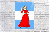 Argentina  Acrylic Print