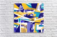 yellowblue  Acrylic Print