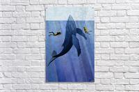 Scuba Dive with Whale  Acrylic Print