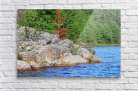 Shawanaga Rock Formation  Acrylic Print