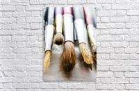 The Artists Brushes  Acrylic Print