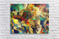 Colorful Abstract Ornament  Acrylic Print